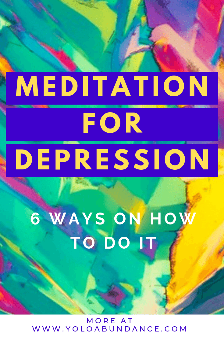 Meditation for Depression | yoloabundance.com
