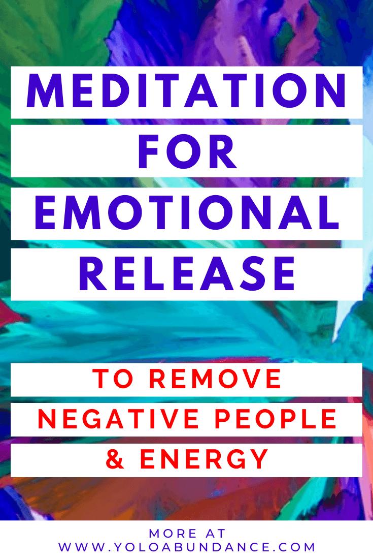 Emotional Release | yoloabundance.com
