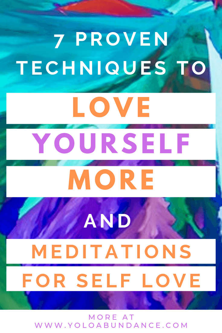 Love Yourself More | yoloabundance.com
