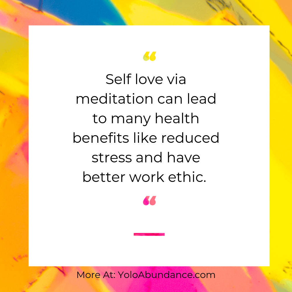 Self Love Meditation | yoloabundance.com