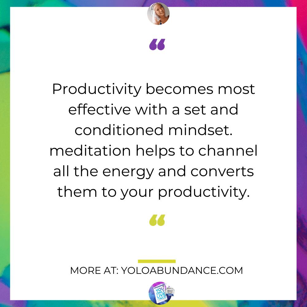motivation meditation | yoloabundance.com