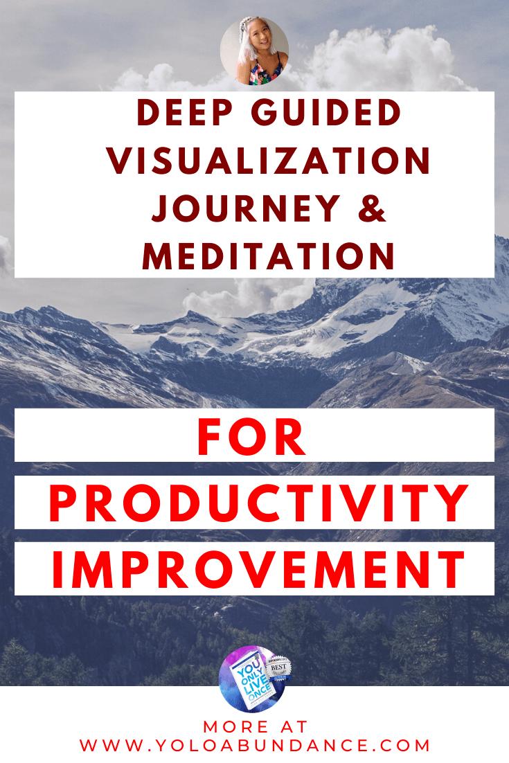 Meditation for Productivity Improvement | yoloabundance.com
