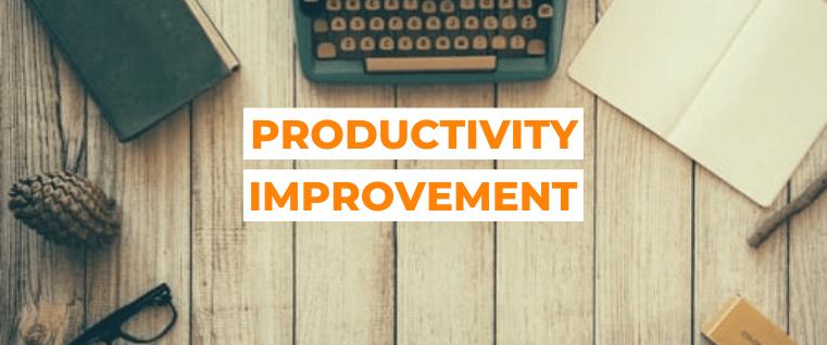 productivity improvement | yoloabundance.com