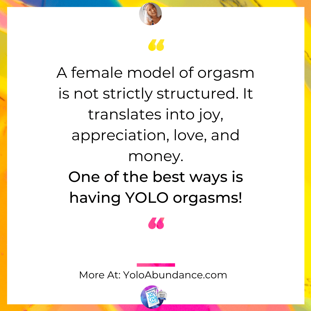 Female model of Orgasm | yoloabundance.com