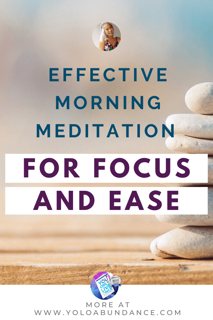 Morning Meditation | yoloabundance.com