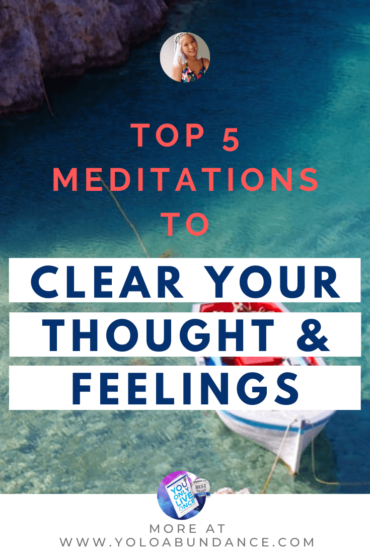 Thoughts and Feelings meditation  | yoloabundance.com