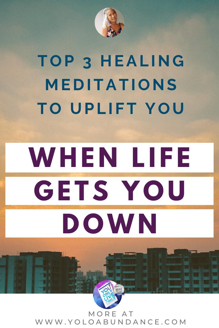 Healing meditation | yoloabundance.com