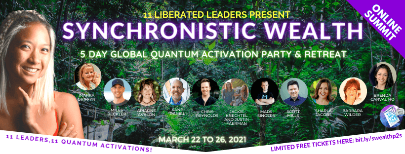 Synchronistic Wealth Global Activation Party Hani Cheng
